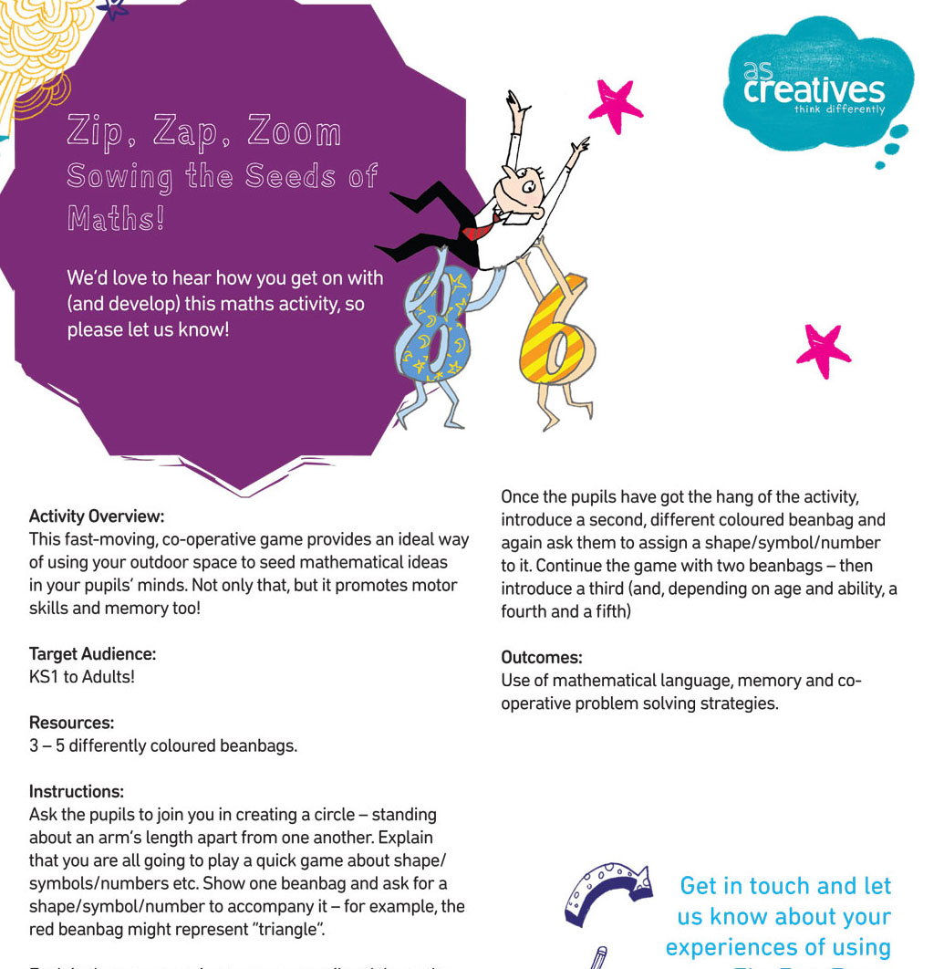 Teaching Resource: Zip Zap Zoom – Sowing the Seeds of Maths!