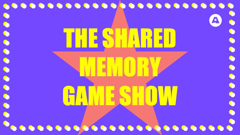 Teaching Resource: Transition Activity – The Shared Memory Game Show