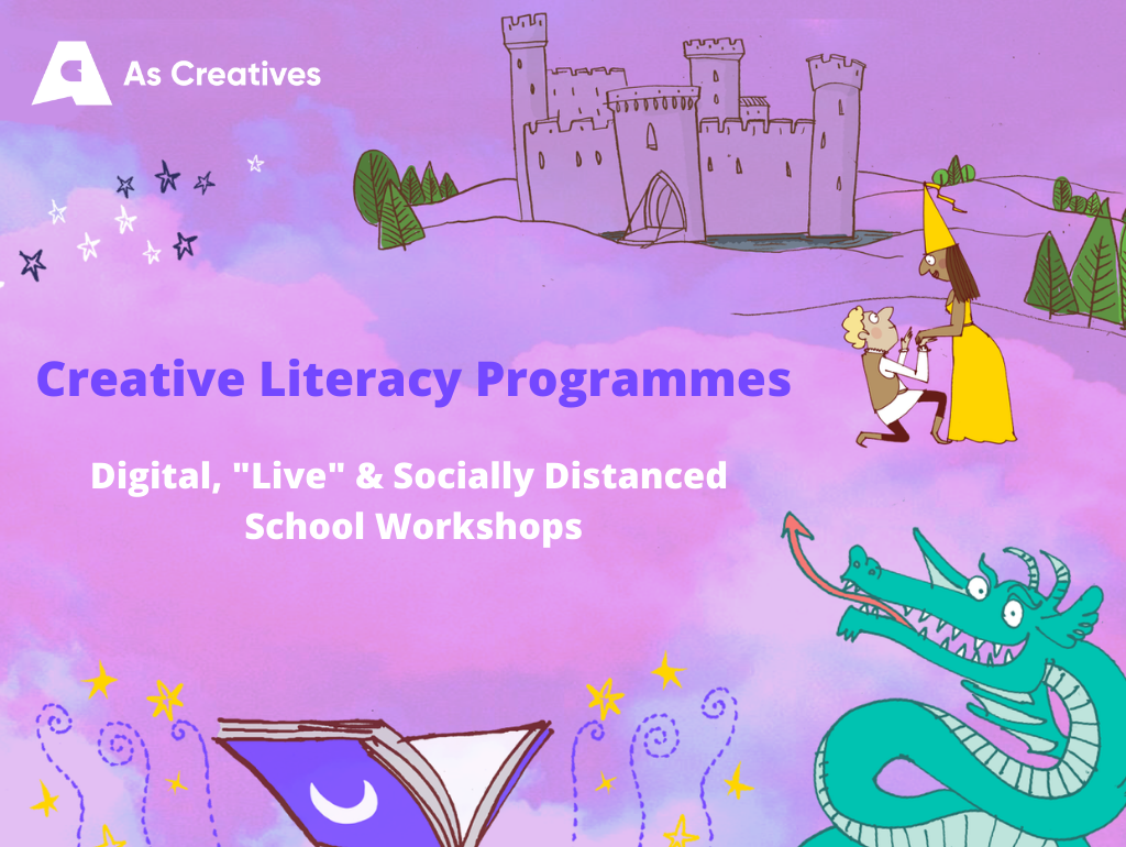 World Book Day 2021 – Socially Distanced, Live and Digital Workshop Packages!
