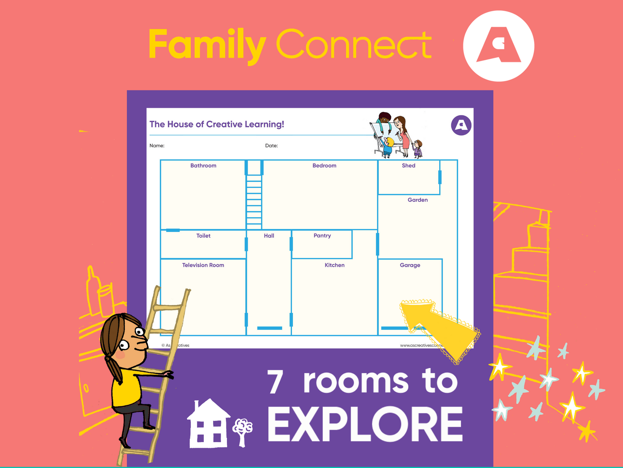 Family Connect – a Virtual House of Creative Learning