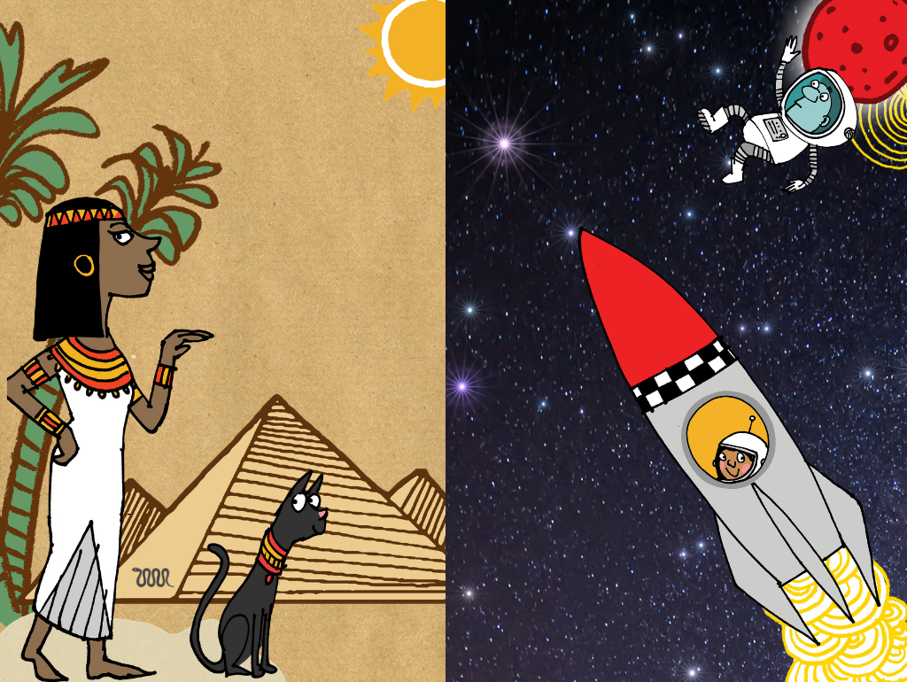 "Host your own Space or Egyptian themed Maths ""Wow"" day!"