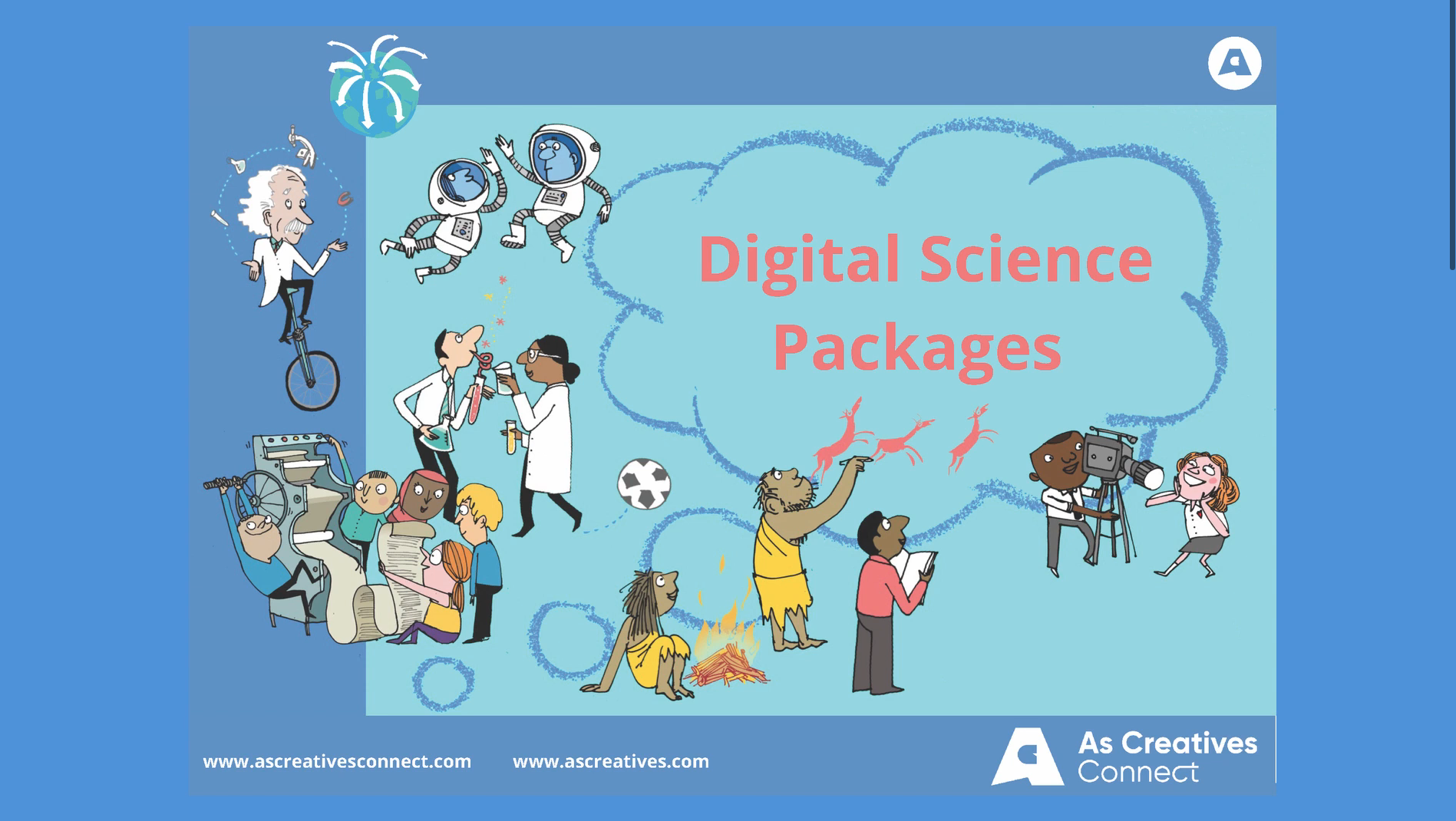 STEM Workshops for Schools – Science and Maths digital packages and streamed workshops