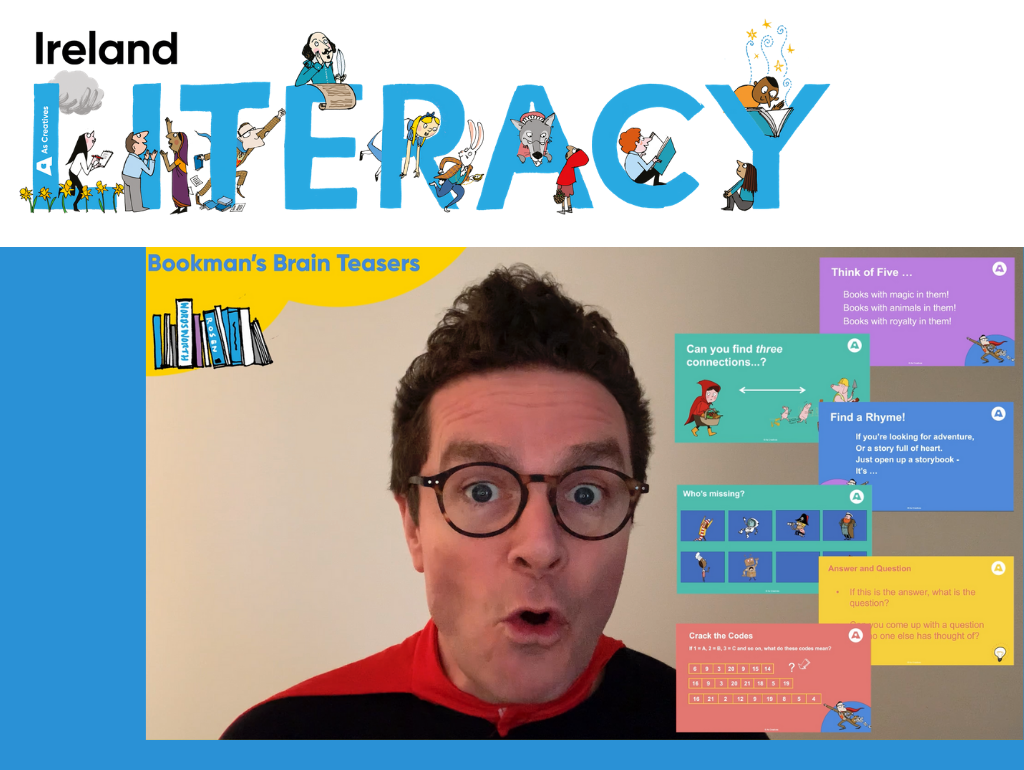 Creative Literacy Programmes for Primary Schools in Ireland