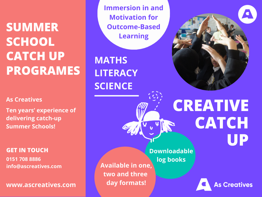 Summer School Catch Up Programmes 2021 – School Catch Up Workshops & Programmes