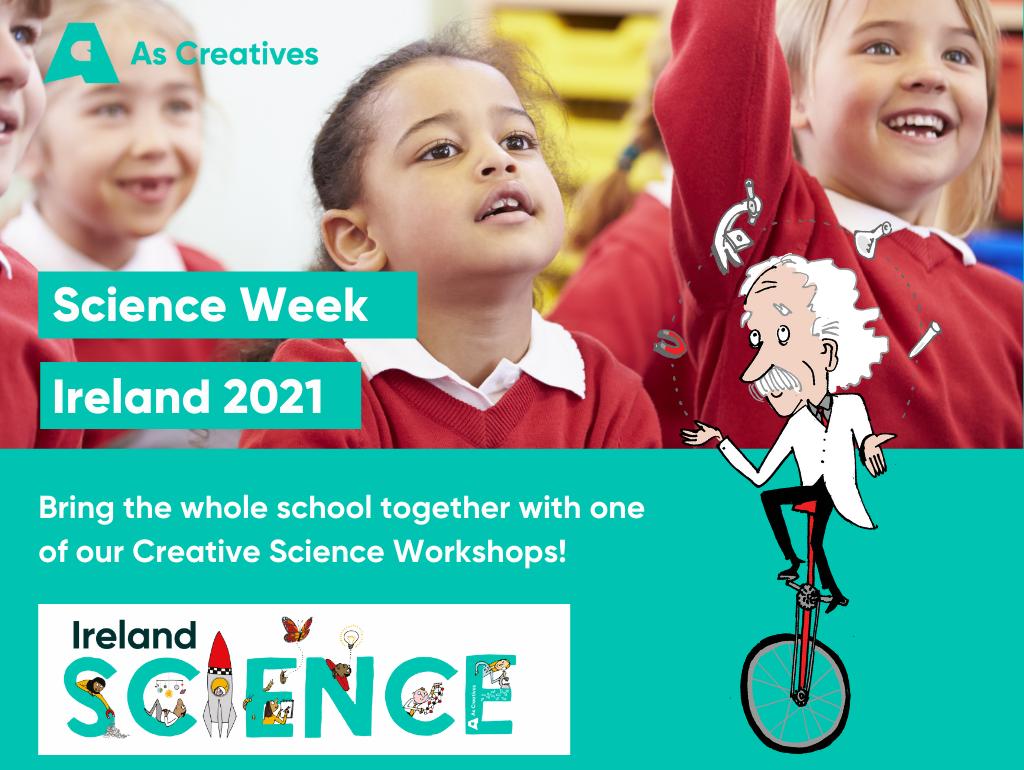 Science Week Ireland 7th – 14th November 2021 – School Workshops