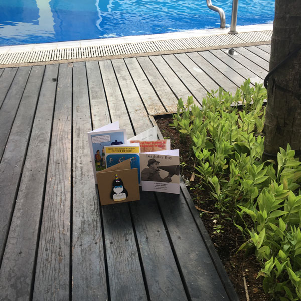 Birthday Cards by the Pool