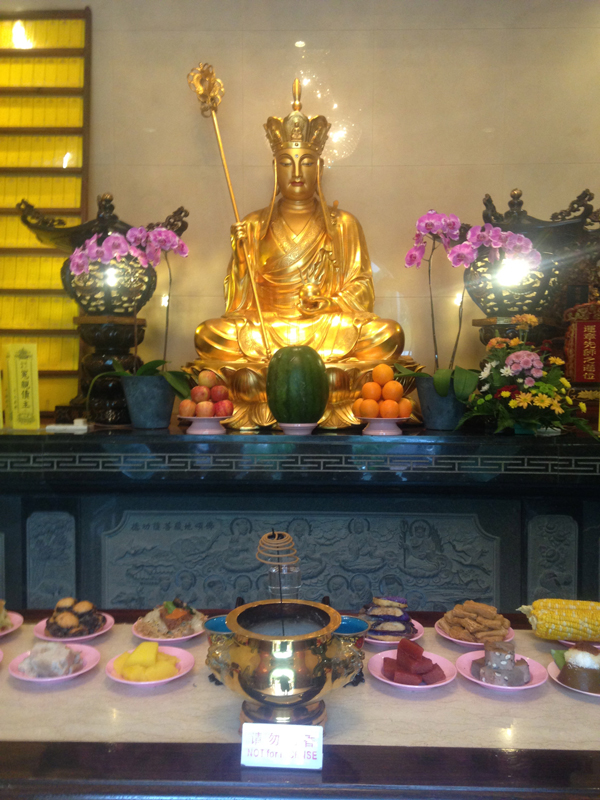 A visit to the Medicine Buddha to ask for good health
