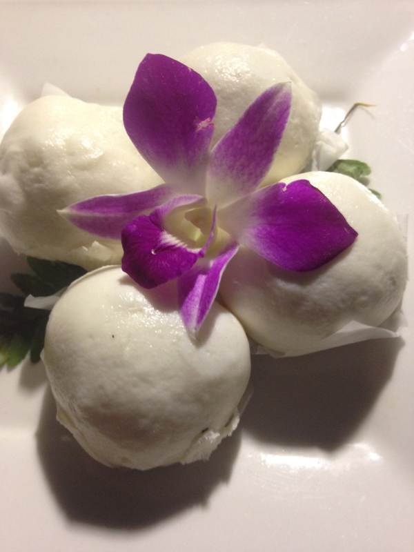 Lotus Buns - delicious!
