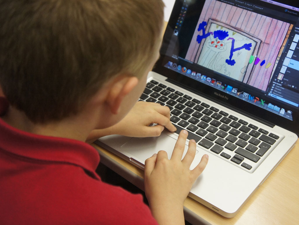 Case Study: Beechwood Primary School – Creating Digital Artworks