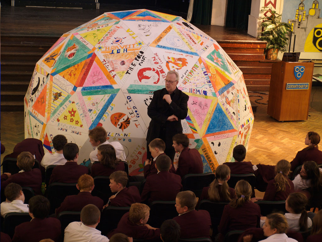 Case Study: Building a Geodesic Science Dome at St John Bosco