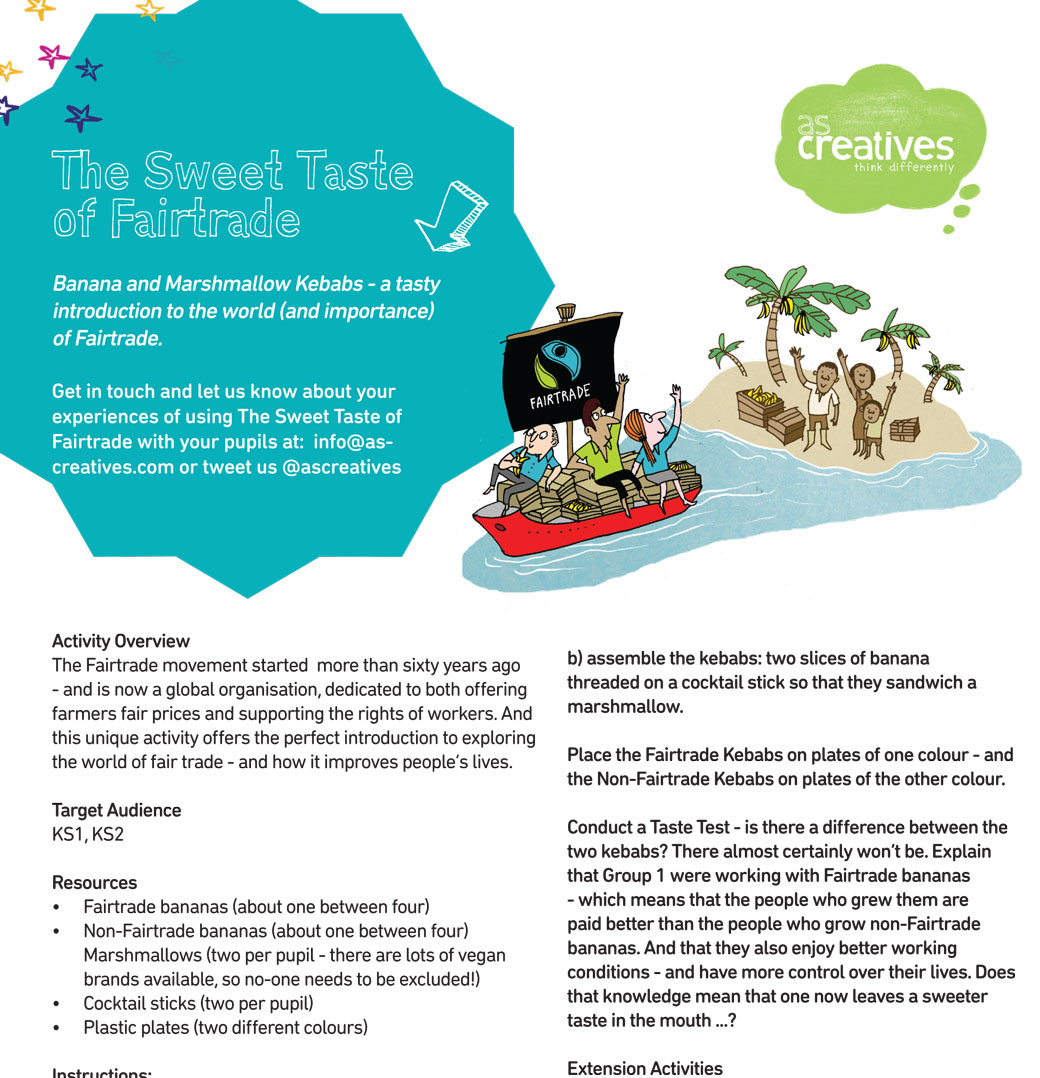 TeachingResource: The Sweet Taste of Fairtrade