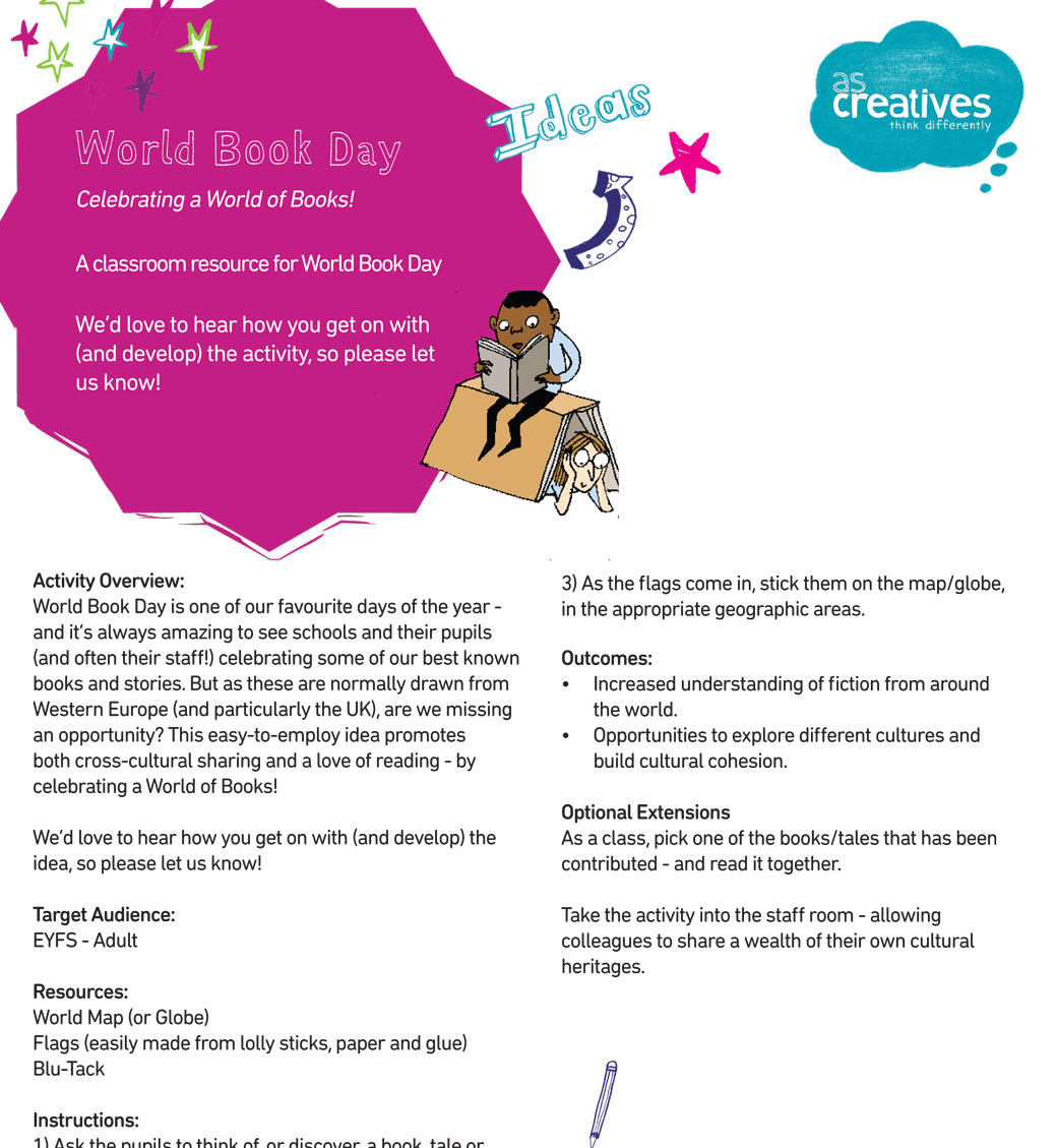 Teaching Resource: Teaching Ideas For World Book Day – Celebrating a World of Books!