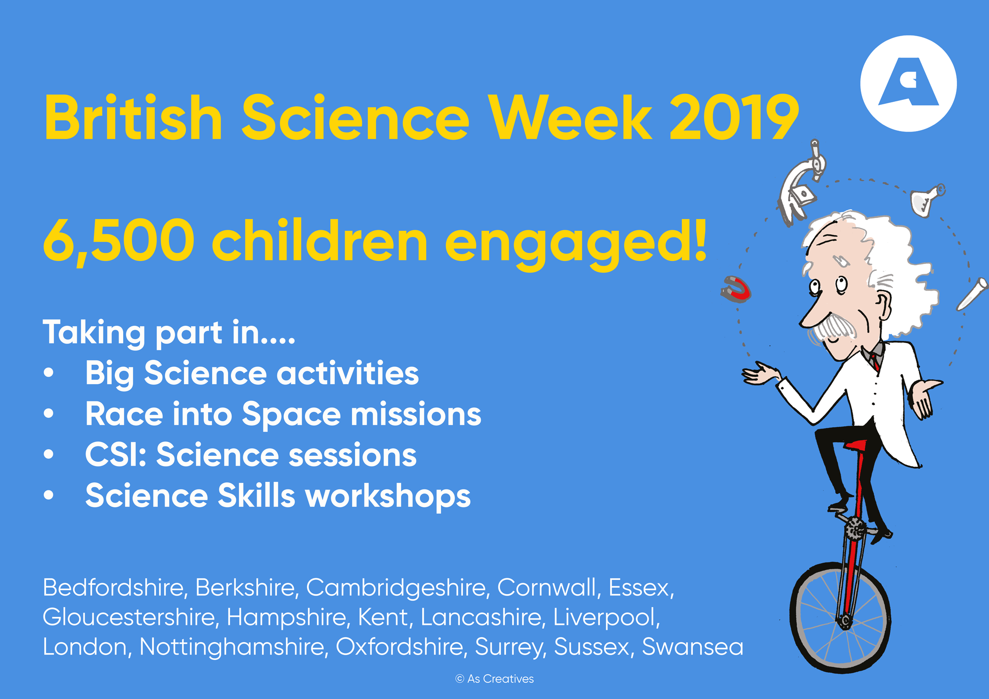 British Science Week 2019 and Science Workshops for Summer Term